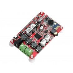 Mini Amplificador de Som TDA7492 Estéreo 2 canais 50W + 50W com Recepção Bluetooth 4.0