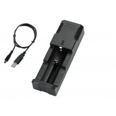 Carregador de Bateria 18650 1 Slot 3.7V a 4.2V