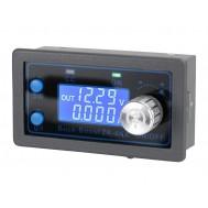 Regulador de Tensão Ajustável ZK-4KX DC Step Up e Down com Display Duplo - Saída 0,5V a 30V 4A