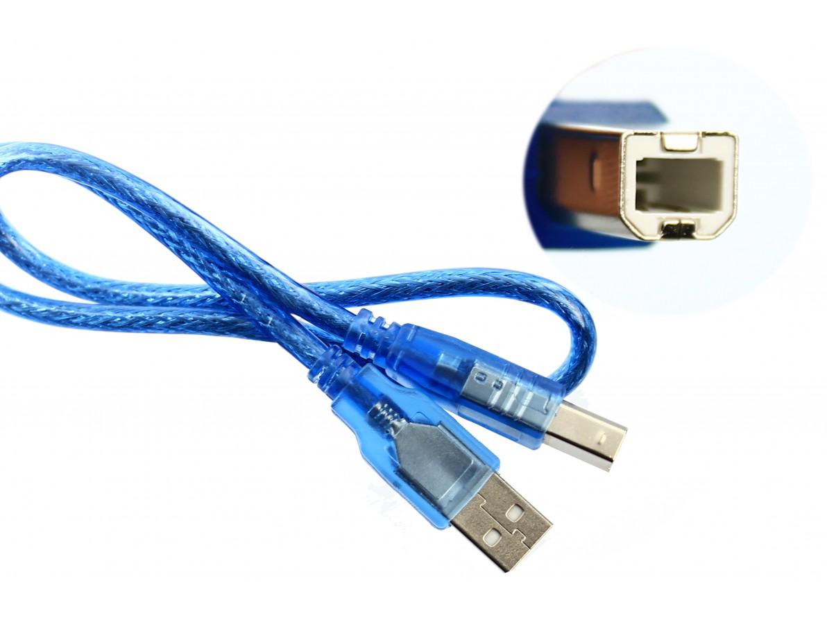 Cabo USB para Arduino Uno, Arduino Mega e Arduino Uno SMD