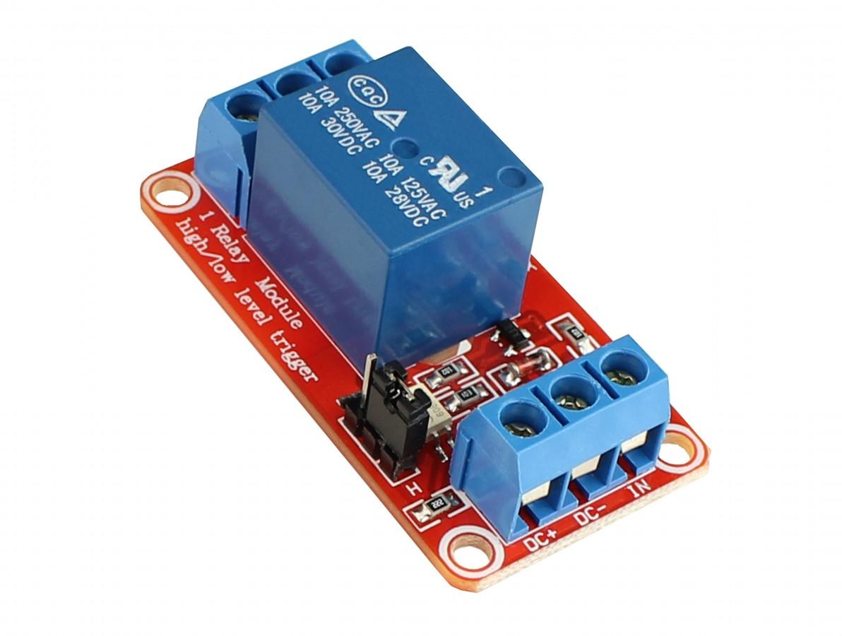 Módulo Relé 1 Canal 5V com Optoacoplador para Arduino e Raspberry PI