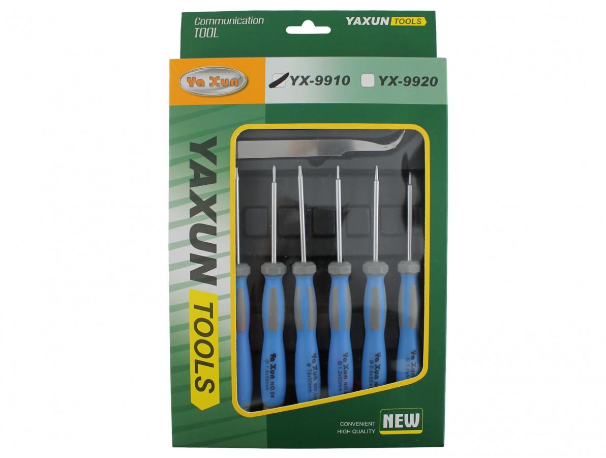 Kit de chaves e pinças com 9 peças - YX 9910