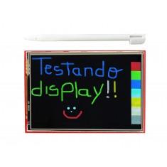 "TFT LCD 3.5"" Shield Arduino Touch Screen com Slot SD"
