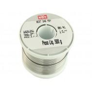 Estanho para Solda / Fio de Solda 1.5mm - Rolo de 500g - Sn (35%) Pb (65%)