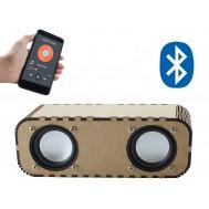 Caixa de Som Bluetooth DIY em MDF 6W RMS + Fonte de Alimentação - JB10