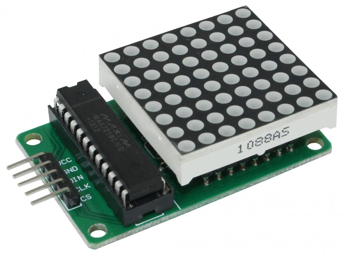 Matriz de LEDs 8X8 - MAX7219