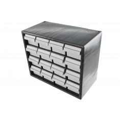 Gaveteiro de Plástico / Organizador 7000 com 16 Gavetas