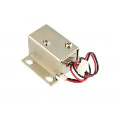 Fechadura Elétrica Solenóide 12V NF Compacta para Projetos - FE-91