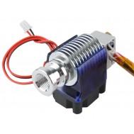 Extrusora Hotend V6 LD 0.4 1.75mm Longa Distância com Aquecedor, Termistor, Bico e Cooler + Tubo ptfe