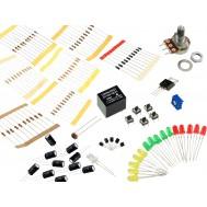 Kit Componentes Eletrônicos 111 peças