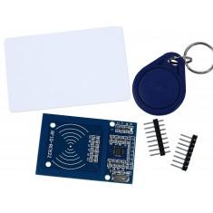 Kit RC522 Leitor RFID + Tags (Chaveiro + Cartão)