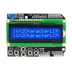LCD Keypad Shield Display LCD 16x2 para Arduino