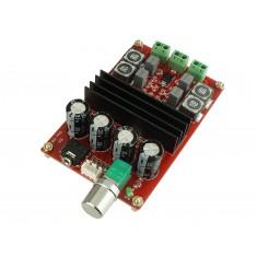 Mini Amplificador de Som TPA3116D2 Estéreo 2 Canais 100W + 100W
