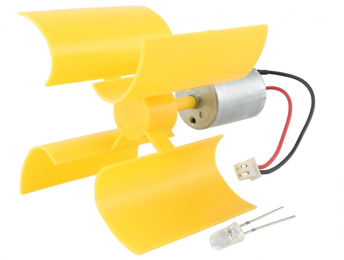 Mini Gerador de Energia Eólico 5.5V 100mA