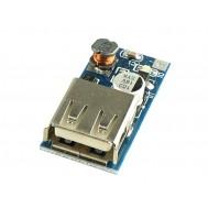 Regulador de Tensão 5V USB / Entrada 2 a 5VDC Conversor Boost Step Up