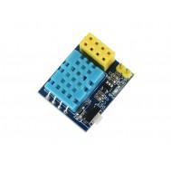 Adaptador ESP8266 ESP-01 com Sensor de Temperatura e Umidade DHT11