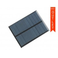 Mini Painel Solar Fotovoltaico 6V 180mA 84x112mm - OUTLET