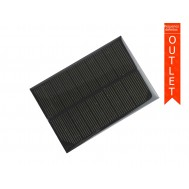 Mini Painel Solar Fotovoltaico 5V 200mA 69x100mm - OUTLET