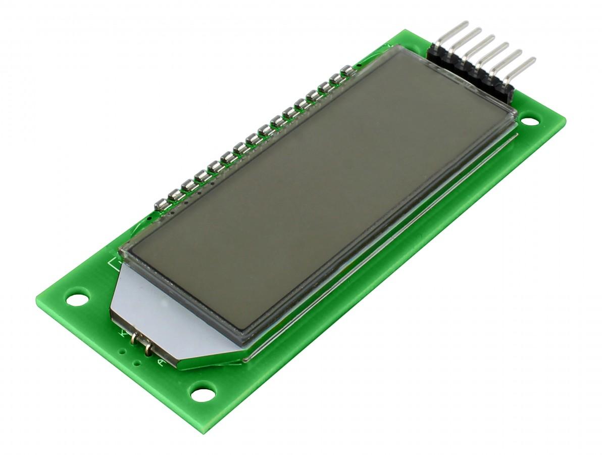 MODULO LCD 2.4 HT1621 VERDE