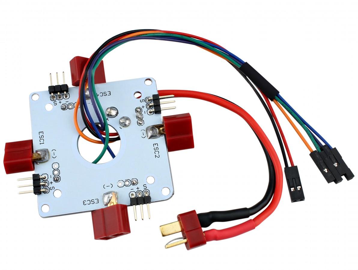 Placa Distribuição Energia ESC para Drone Quadricóptero - PD60