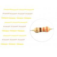 Kit com 100 Resistores 330R 1/4W