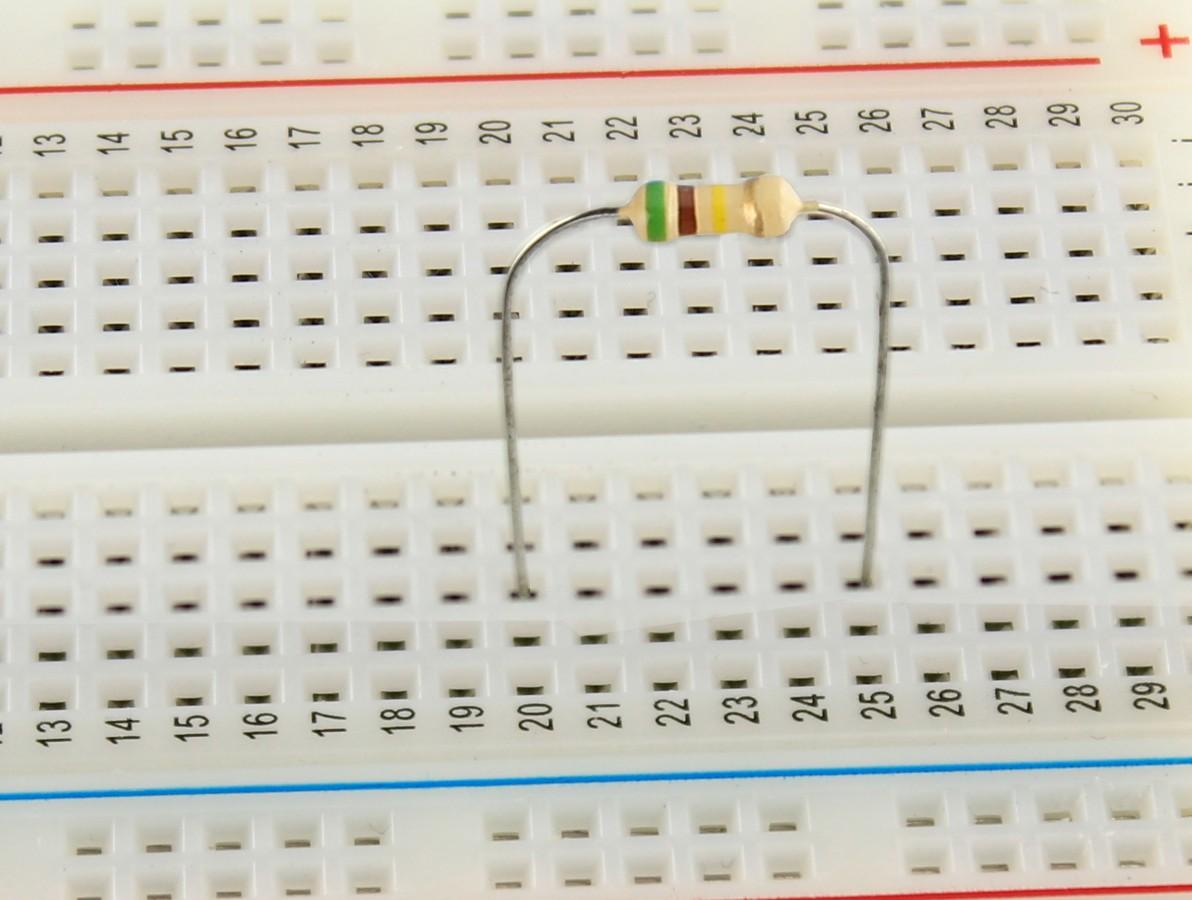 Resistor 510K 1/4W - Kit com 100 unidades