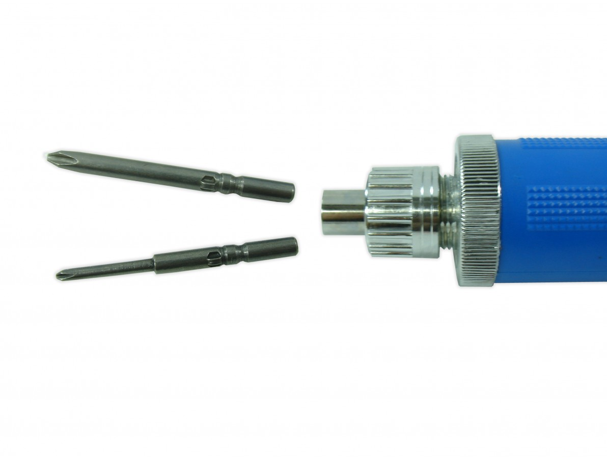 Parafusadeira elétrica com conectores banana ideal para bancadas e linhas de montagem - DN4CB