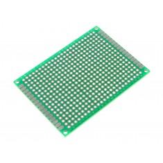 Placa de Circuito Impresso Ilhada 432 Furos Simples - 5x7cm