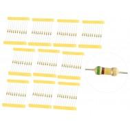 Kit com 100 Resistores 510K 1/4W