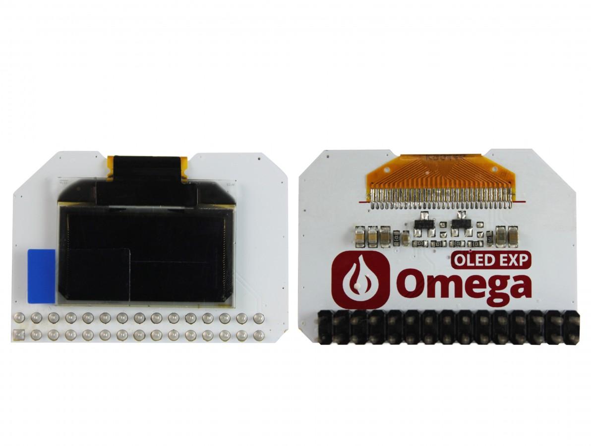 """OLED Expansion Board para Omega2 e Omega2 Plus / Shield Display OLED 0.96"""""""