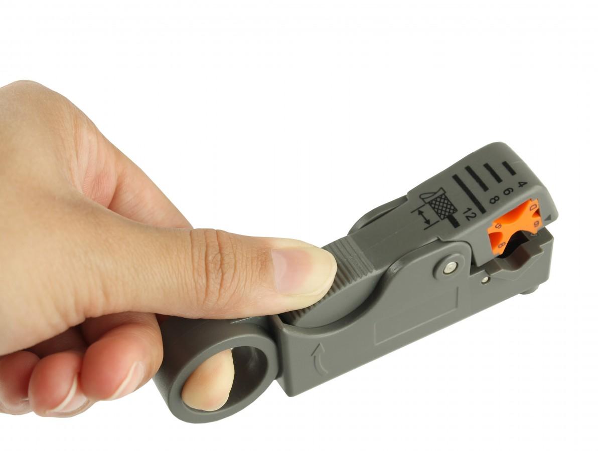 Alicate decapador de cabos / descascador de cabos coaxiais - HT 332B