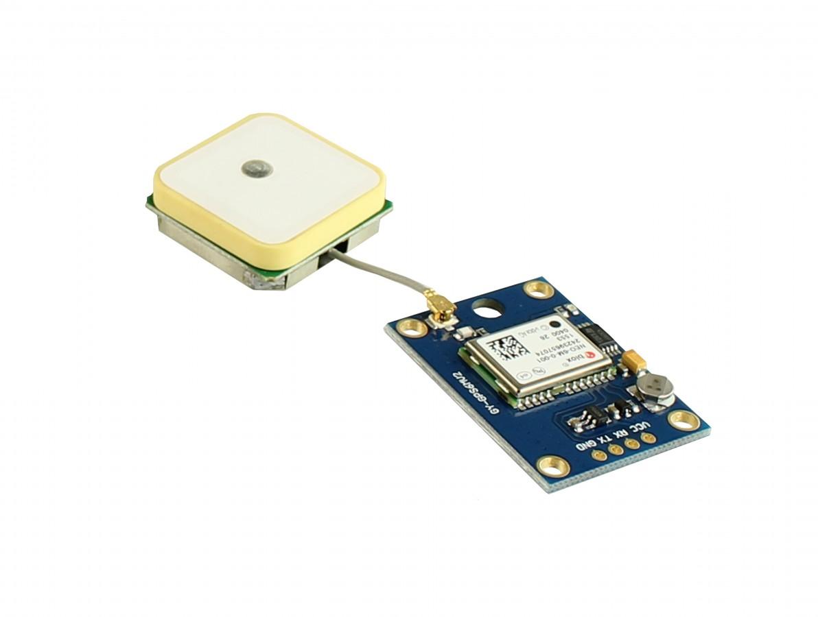 Módulo GPS com antena para Arduino e Raspberry PI