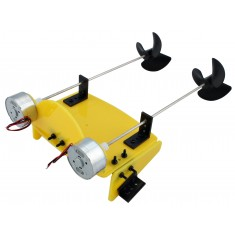 Motor Barco Arduino - Kit com 2 Motores, Suportes + Hélices - F17929