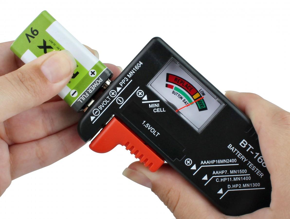 Testador de Pilhas e Baterias - BT168
