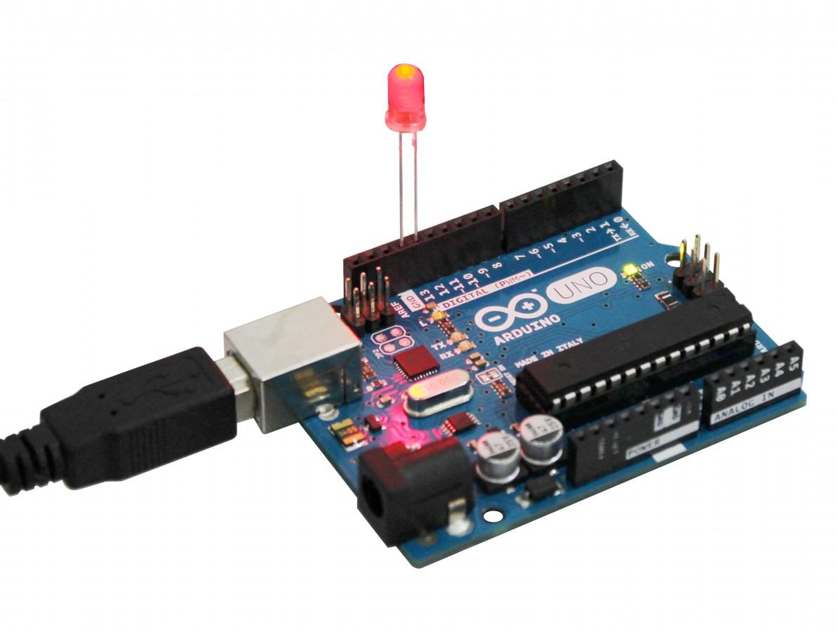 Kit com 50 LEDs Vermelhos 5mm Difusos