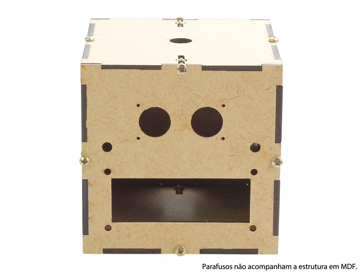 Estrutura em MDF para Robô Ludos