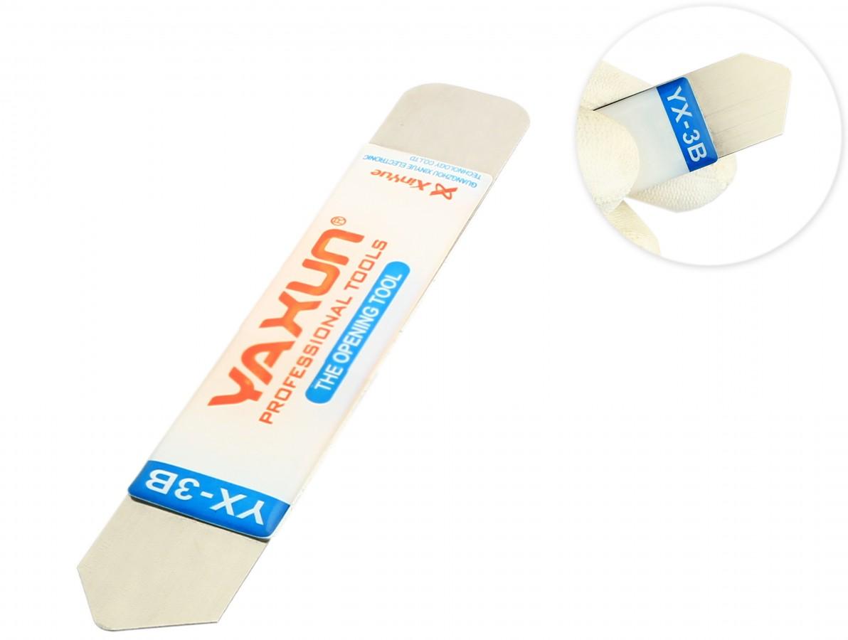 Chave Espátula em Aço Inox para desmontagem de smartphones, tablets e notebooks - YX-3B