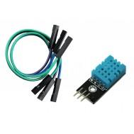 Módulo Sensor de Umidade e Temperatura DHT11 + Jumpers