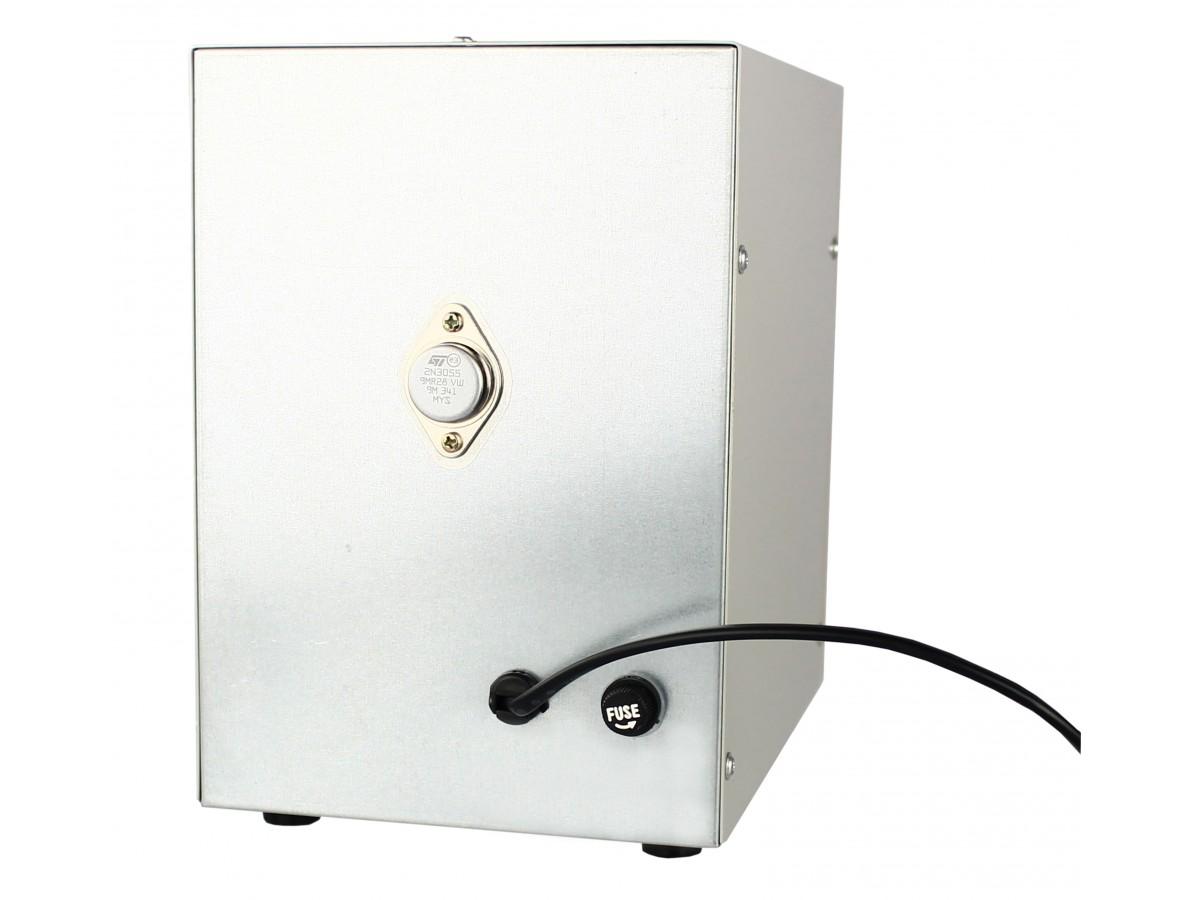 Fonte de alimentação DC 15V 1A com voltímetro e teste de radio frequência - PS1501T