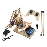 Braço Robótico Arduino Completo + Manual de Montagem