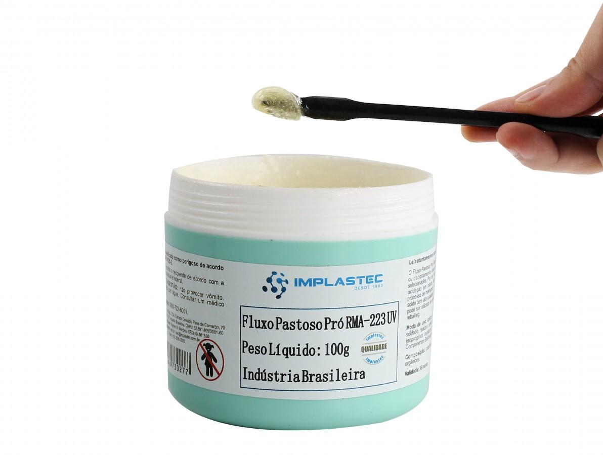 Fluxo de Solda Pastoso RMA-223-UV 100g