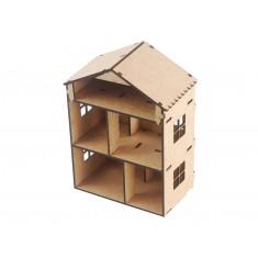 Estrutura em MDF para Mini Casa Sustentável DIY