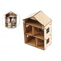 Mini Casa Sustentável DIY com Geração de Energia Manual Completa