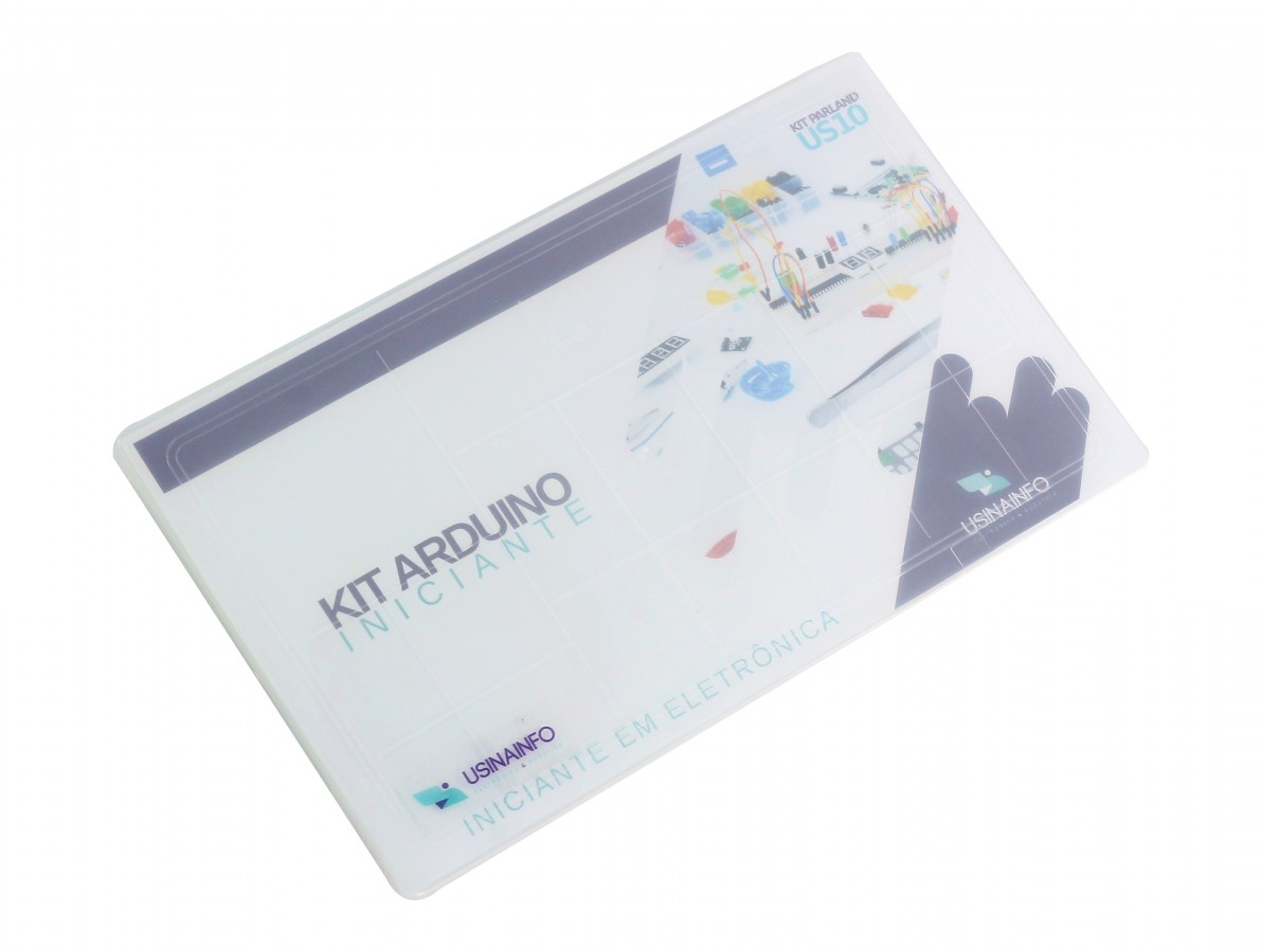 Kit Arduino Iniciante em Eletrônica 127 peças - US10