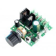 Controlador PWM 10A 400W para Velocidade de Motores 12V à 40V