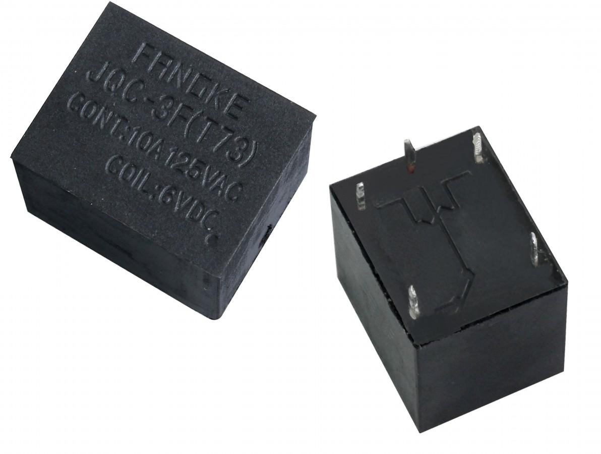 Relé 6V 10A 1 Canal Reversível Selado - JQC-3 T73