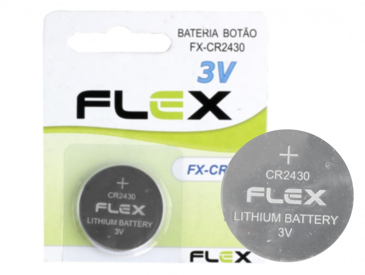Bateria CR2430 3V de Lithium / Pilha CR2430