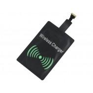 Adaptador para Carregamento por Indução Qi Wireless Micro Usb 5V 1A