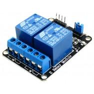 Módulo Relé 5V 10A 2 canais com Optoacopladores