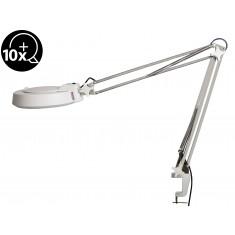 Lupa de Bancada com Iluminação LED 12W e Aumento de 10D - Magnifier XB-86AY (Bivolt)